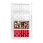 Калъп за шоколад Decora - тухлена стена