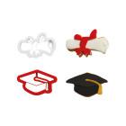 Комплект резци Decora - диплома и шапка
