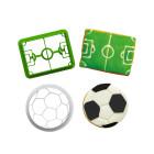 Комплект резци Decora - топка и стадион
