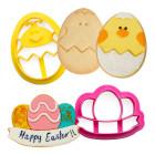 Комплект резци Decora - Великденско яйце и гирлянда