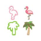 Комплект резци Decora - фламинго и палма