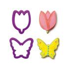 Комплект резци Decora - лале и пеперуда