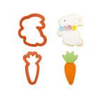 Комплект резци Decora - Великденско зайче и морков
