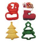 Комплект резци Decora - Коледен ботуш и елха