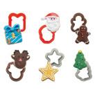 Комплект мини резци Decora - Коледа
