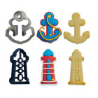 Комплект резци Decora - котва и морски фар