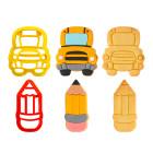 Комплект резци Decora - училищен автобус и моливче