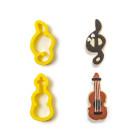 Комплект резци Decora - нота и цигулка