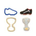 Комплект резци Decora - футболна обувка и купа