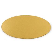 Мъфини и торти - Луксозна кръгла основа Decora - тънка злато - 36 см