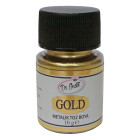 Неядлив оцветител металик DrGusto - златен SE 10 гр