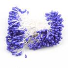 Тичинки за цветя - тъмно лилави перлени