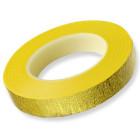Декоративно тиксо - алуминиево златисто - 13 мм