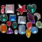 Силиконов калъп - диаманти