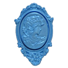 Силиконов калъп - медальон #1