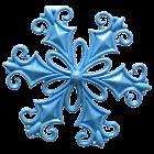 Силиконов калъп - снежинка