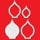 Комплект щампи FMM - лилии от арум/кала