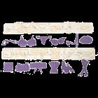 Комплект релси - женски аксесоари