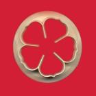 Резец - венчелистче на роза - 50 мм