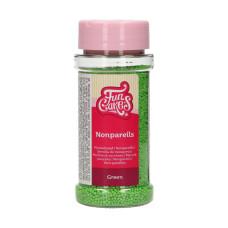 Аксесоари за украса - Захарни перли - светло зелени