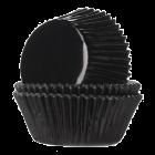 Форма за мъфини - черни фолирани