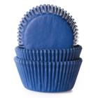 Форма за мъфини - дънково сини
