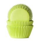 Форма за мъфини - светлозелени