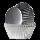Форма за мъфини - сребърни фолирани