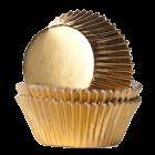Форма за мъфини - златни фолирани