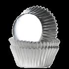 Форма за мъфини - сребърни фолирани - мини