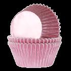Форма за мъфини - бебешко розови фолирани