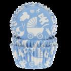 Форма за мъфини - бебе син фон