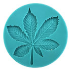 Силиконов калъп - листо от кестен