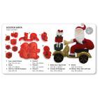 Комплект резци - Пътуващият Дядо Коледа