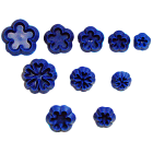 Комплект щампи с форми на цветя JEM #2