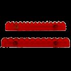 Комплект релси с форми на различни кантове JEM - #3