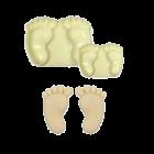 Комплект резци Pop It - бебешки стъпки
