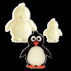 Комплект резци Pop It - пингвин