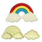 Комплект резци Pop It - облаци и дъга
