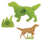 Комплект резци - куче и трева