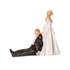 Аксесоари за украса - Декоративни фигури - влачен младоженец