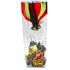 Декоративнa торбичкa Kardasis - Дядо Коледа с балон