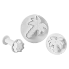 Комплект щампи с форми на палми и слънце