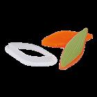 Резец и щампа - лист на божур и лилия