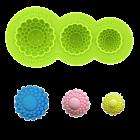 Силиконова форма - декоративни копчета