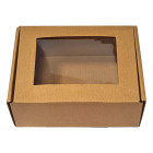 Кутия с прозорец - 170x130x60 мм
