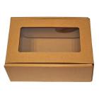 Кутия с прозорец - 130х180х70 мм