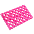 Текстурен борд - решетка с цветчета