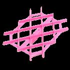 Текстурен борд - ромбоидна решетка