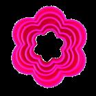Комплект резци - вълнисти кръгове